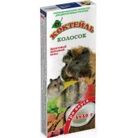 Колосок для грызунов Коктейль «Фруктовый, ореховый, кокос»