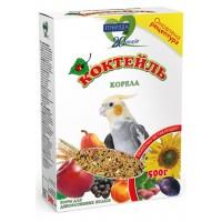 Корм Коктейль «Корелла» для средних попугаев, 500гр