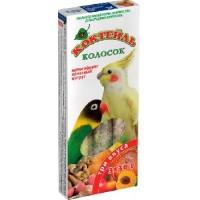 Колосок для попугаев Коктейль «Мультифрукт, ореховый, цитрус»