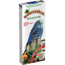 Колосок для попугаев Коктейль «Сафлор, лесные ягоды, кокос»