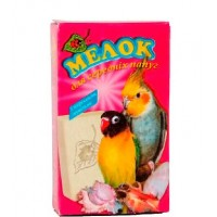 """Минерал """"Мелок с морскими ракушками"""" для средних попугаев."""