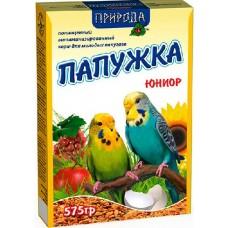 """Корм """"Природа"""" «Папужка юниор» Для волнистых попугаев, 575гр"""