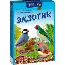 """Корм """"Природа"""" «Экзотик» для канареек, амадин и птиц семейства ткачиковые, 500гр"""