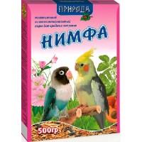 "Корм ""Природа"" «Нимфа» для средних попугаев, 500гр"