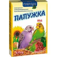 """Корм """"Природа"""" «Папужка йод + кокос» для волнистых попугаев, 575гр"""