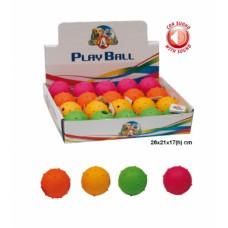 Игрушка для соб. CaniAMici Мячик резиновый  с шипами и звуком 6098555