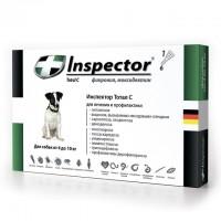 Инспектор капли для собак от 4 до 10 кг