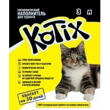 Котикс наполнитель  силикагелевый 3 л