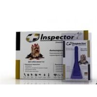 Инспектор капли для собак  до 4 кг