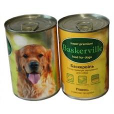 Baskerville конс для собак 400г Петух Рис Цукини
