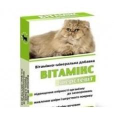 Витамикс 12 шерстевит  для кошек