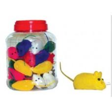 Мышь велюровая 6.5см*12шт