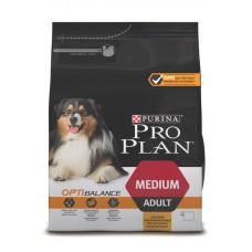 PRO PLAN OPTIBALANCE (сухой корм для взрослых собак средних пород), 1,5кг
