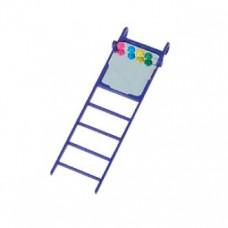 Лестница для попугаев с зеркалом №025/3