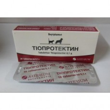 Тиопротектин 0,1г таблетки № 2