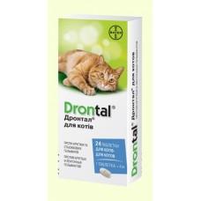 Дронтал плюс для котов cо вкусом мяса ( 12 таблеток в блистере )