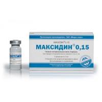 Максидин глазной капли 0,15% 5мл (1 ампула)