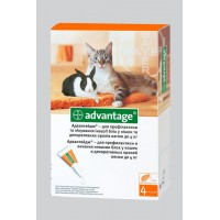 Адвантейдж коты от 4кг (4шт. в уп)