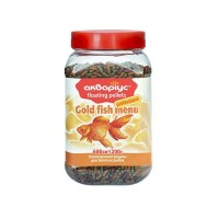 Аквариус меню для золотых рыбок 200гр