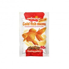 Аквариус меню для золотая рыбка 40гр