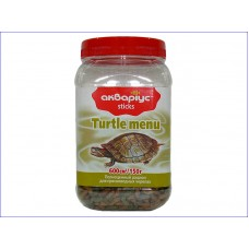 Аквариус меню для черепах 150гр
