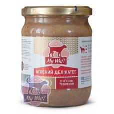 Мясн деликат 500гр мясо телятины  стекло соб