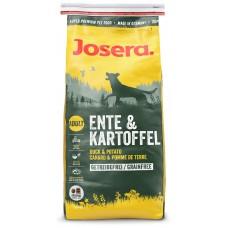 Josera Ente&Kartoffel (Энте энд картофель) сухой беззерновой корм для собак с уткой и картофелем, * 5 * 900гр
