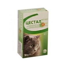 Цестал кет - вкус печени таблетки (кошка )