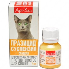 Празицид суспензия для котов