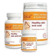 Долфос для собак бета-каротин+биотин (1т/20кг) 90 таб