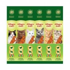 Жевательные колбаски для котов Allegro Cat 6*5гр (ягненок индейка)