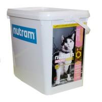"""Nutram I17 (Сухой корм класса """"ХОЛИСТИК"""" для котов, содержащихся в помещении), 5кг Ведро!"""