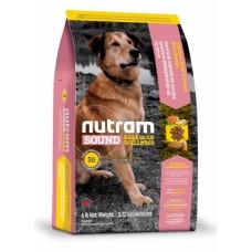 "Nutram S6 (Сухой корм класса ""ХОЛИСТИК"" для собак), 13,6кг"