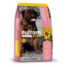 """Nutram S8 (Сухой корм класса """"ХОЛИСТИК"""" для собак крупных пород), 13,6кг"""