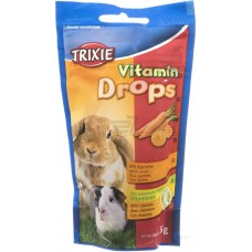 Витамины для грз-ов Дропсы 75гр каротин 6023