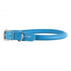 "35052 Ошейник ""Colllar GLAMOUR"" круглый (диаметр 8мм, длина 33-41см) синий"