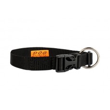 """01621 Ошейник """"Dog Exstreme"""" нейлоновый регулируемый  (шир.20мм, длина 25-40см) черный"""