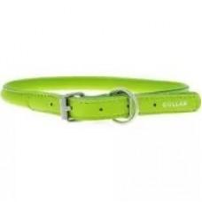 "35075 Ошейник ""Colllar GLAMOUR"" круглый (диаметр 13мм, длина 45-53см) зеленый"