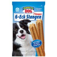 Дентальные палочки Perfecto Dog 6-Eck Stangen 203g. (DentaSticks), уп. 9 шт.