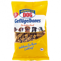 Косточки с птицей Perfecto Dog Geflügelbones 150g., Уп. 11 шт.
