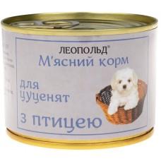 Мясной корм для щенков птица 190гр
