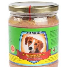 Мясной деликатес СТЕКЛО для собак 500г ПРЕМИУМ ягненок