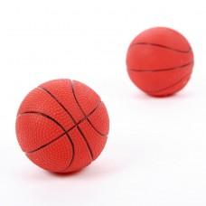 Мяч баскетбольный с пищалкой 7,5см 3332