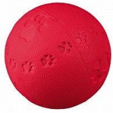 Мяч с пищалкой и кубиками 7см/60 3339