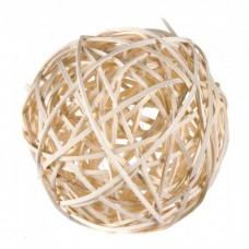 Мячик из лозы 4см 12116