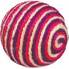 Когтеточка-шарик сизаль трехцветный