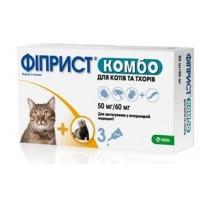 Фиприст Комбо для кошек и хорьков №3