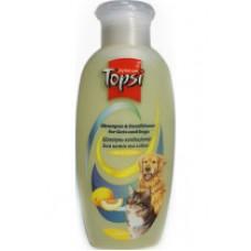 Шампунь-кондиционер для котов и собак с Дыней 200мл TOPSI