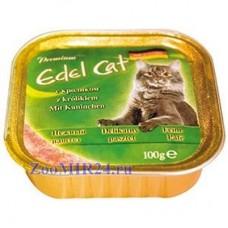 Edel Cat 100гр паштет кролик