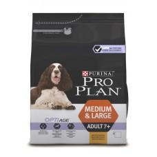 PRO PLAN OPTIAGE (сухой корм для собак старше 7 лет средних и крупных пород), 1,5кг
